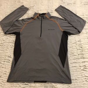 COLUMBIA MENS base layer long sleeve top